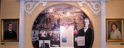 Exhibits at the Cobb Museum