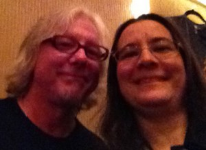 Mike Mills of R.E.M. and The Baseball Project, and me!